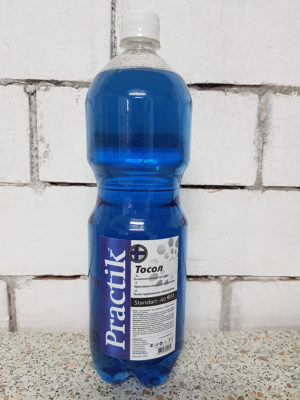 Тосол PracticUM Standart -40 G11 (пэт бутылка 1,5кг)