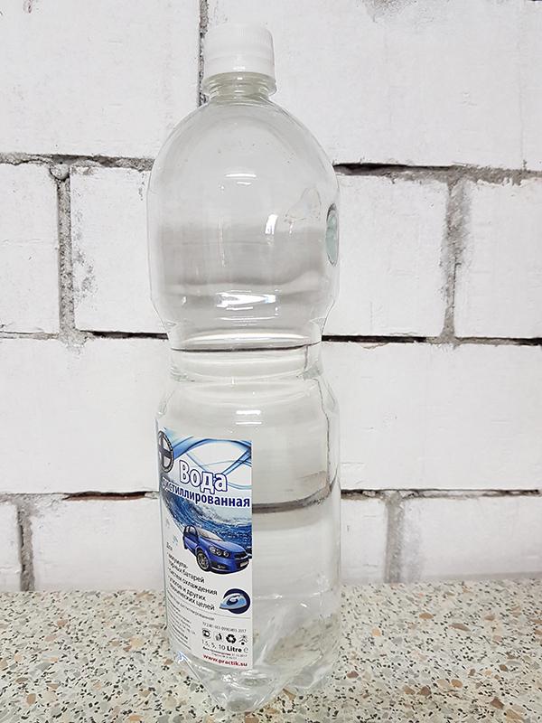 Вода дистиллированная для аккумуляторов и теплоносителей (пэт бутылка 1,5л)