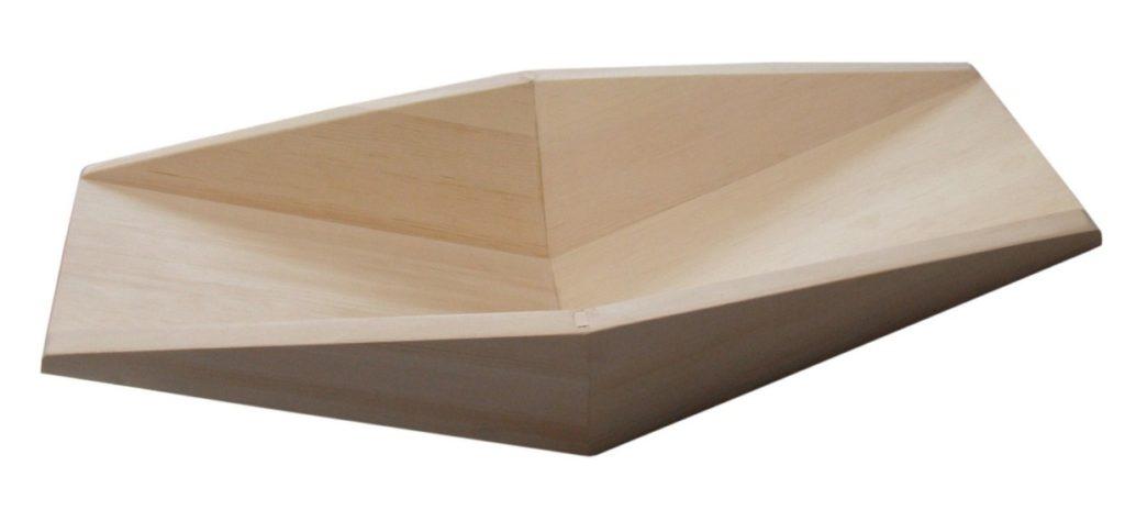 Лоток промывочный коробчатый, кедр